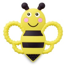 Buzzy Bee Multi-Textured, Soft & Soothing, Easy-Hold, Silicone Teether T... - $10.34