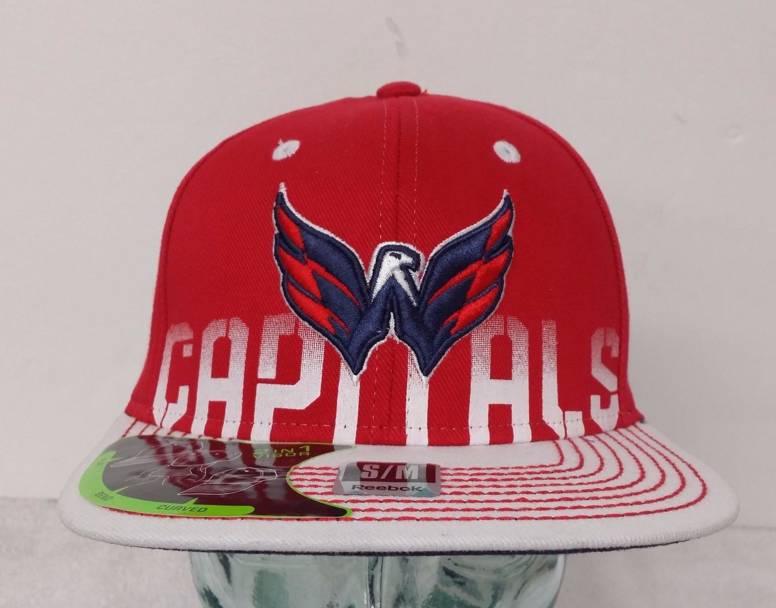 Washington Capitals 2 in 1 Visor Red   White and 50 similar items c3612c2161c