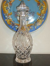 "Waterford Cut Crystal Shannon Jubilee Decanter 13 1/8"" High - $60.00"