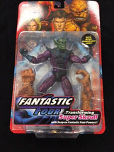 Toy Biz Fantastic Four Transforming Super Skrull Marvel Legend Action Fi... - $89.09