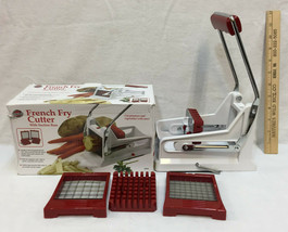 Norpro French Fry Cutter Kitchen Tool Gadget Vegetables Veggies Carrots ... - $12.86