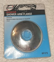 DANCO 89172 Metal Construction With Chrome Finish Universal Shower Arm Flange image 1