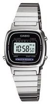 CASIO Standard LA-670WA-1JF Silver Ladies Watch  Japan - $20.89