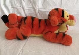 "DISNEY Tigger Plush 16"" Tigger Lying Down Authentic Walt Disney Co - $19.99"