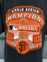 San Francisco Giants MLB 2014 World Series Champions XL T-Shirt  - $13.75