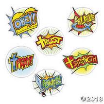 Superhero Faith Cutouts - $6.36