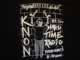 89.3 KNON Hard Time Radio Station Black T Shirt Size XL - $17.81