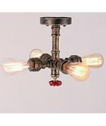 Edison Loft Vintage LED ceiling Light Fixtures With 4 Lights Living Room - $104.22
