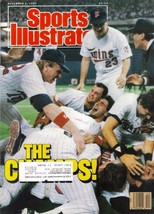 Sports Illustrated Magazine, November 2 1987, The Champs - $3.25