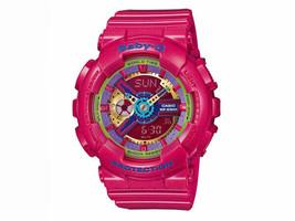 BRAND NEW CASIO 2018 Baby-G Dark Pink Bouquet Series BA-110  Women's Watch  - $94.11 CAD