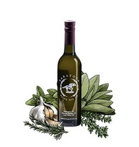 Saratoga Olive Oil Company Neapolitan Herb Dark Balsamic Vinegar 375ml 1... - $26.90