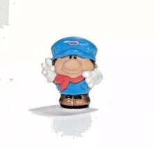 Little Tikes People Train Conductor Man Figurine Engineer Toy - $4.94