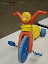 Vintage 1988 Playskool Big Bird Big Wheel Ride On Toy Tricycle Seasame Street... - $74.25