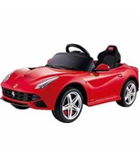 Rastar Ferrari F12 12-Volt Battery-Powered Ride-On, Red - $435.99