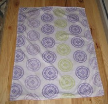 Target Circo Baby Blanket Medallion Mandala Circles Purple Yellow Green ... - $757,61 MXN