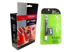 Blue Heaven Waterproof Xpression Black Kajal Pencil With Sharpener - 2.5... - $5.90