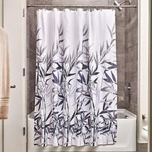 InterDesign 36520 Anzu Fabric Shower Curtain - (Standard|Coral and Gray) - $20.14