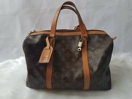 Authentic Louis Vuitton LV Monogram Sac Souple 35 Boston Bag - $455.00