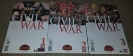 Marvel Comics Civil War 1 2 3 NM Secret Wars 9/2015 Book X-Men Avengers ... - $1.99