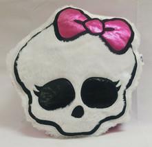 Mattel 2012 Monster High Dolls Soft Plush Girl Skull Cuddle Throw Pillow... - $24.99