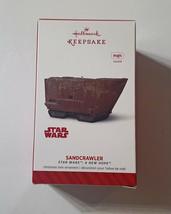 Hallmark Sandcrawler Star Wars Keepsake Ornament NIB Magic Sound  - $21.77