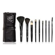 9 pcs Brush Set Beauty Foundation Powder Eyeshadow Cosmetics Make Up Tool - $18.69