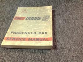 FADED OEM 1963 Dodge Custom Eight Eighty 88 Service Shop Repair Workshop Manual - $16.69
