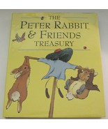 The Peter Rabbit and Friends Treasury by Beatrix Potter Hardcover Dustja... - $6.92