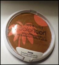 NEW Lg Wet n Wild Coloricon Bronzer & Blush #34298 Everything Under the Sun    - $8.75