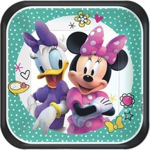 Minnie Mouse Happy Helpers Dessert Plates Birthday Party Supplies 8 Count - $3.85
