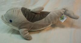 "The Petting Zoo CUTE SOFT GRAY DOLPHIN 13"" PLUSH STUFFED ANIMAL Toy - $16.34"