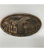 VTG Bergamot Brass Works Austin Nichols Wild Turkey Belt Buckle 1974 Bou... - $42.07