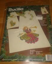 Bucilla #83319 Christmas  Angel  Kit Holiday - $30.49