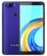 "bluboo d6 pro 2gb 16gb blue quad core fingerprint 8.0mp 5.5"" android sma... - $108.90"