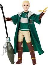Mattel GDJ71 Harry Potter Quidditch Draco Malfoy, Multicolor  - $41.99
