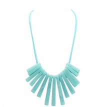ADOLPH Jewelry Long Geometry Choker Necklace 2017 New Handwork Statement Ethnic  - $9.52