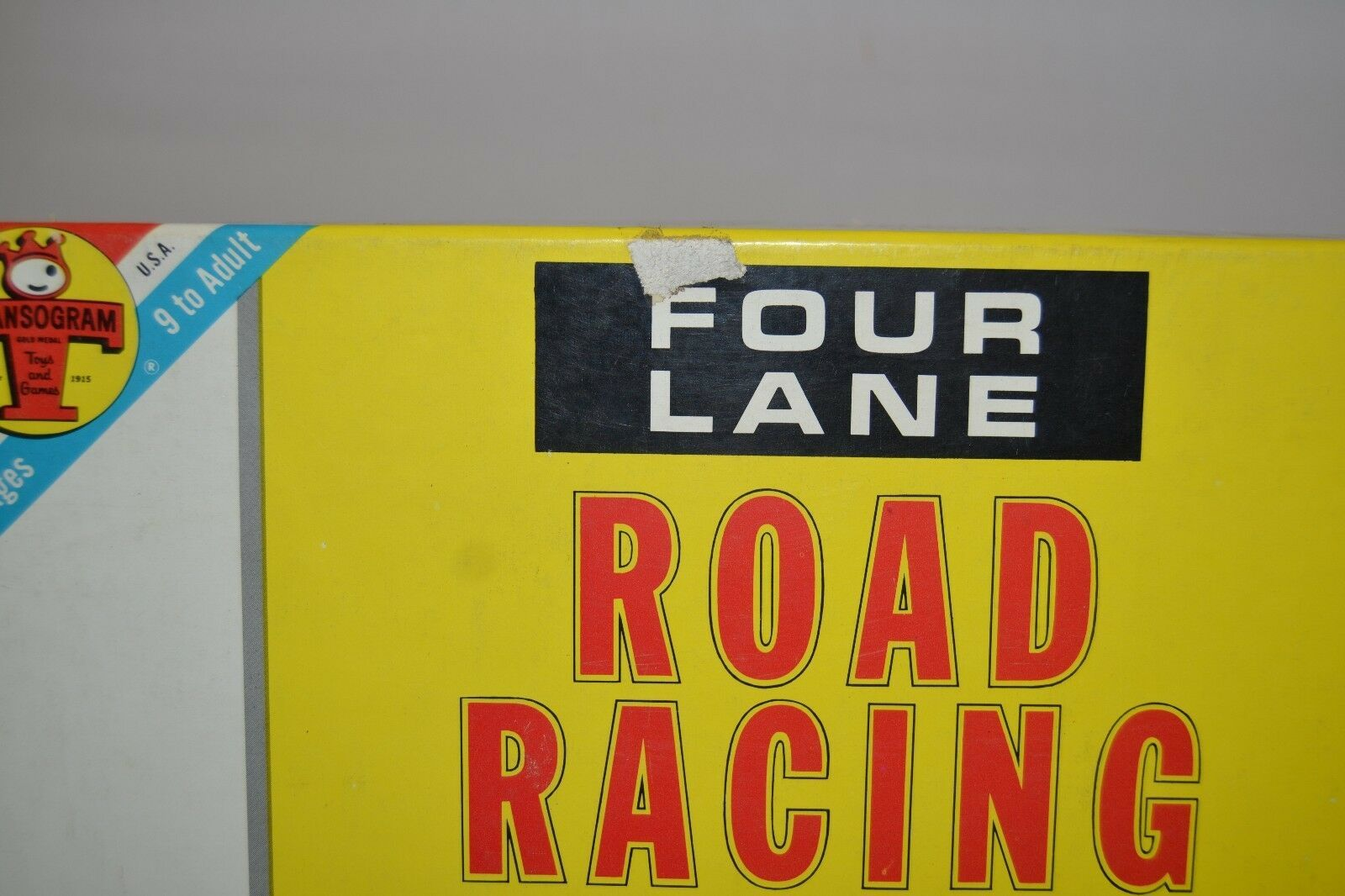 Transogram Rare Four Lane Road Racing Game on the Famous Sebring Track 1963  image 11