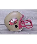 Franklin Youth Plastic San Francisco 49'ers Replica NFL Football Helmet ... - $39.55