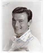 LAURENCE HARVEY Signed photo, fine autograph,The Manchurian Candidate, T... - $356.40
