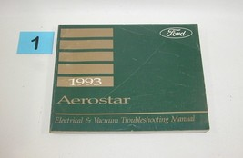 1993 Ford Aerostar Electrical and Vacuum Trouble Shooting Service Manual USED 1 - $18.76