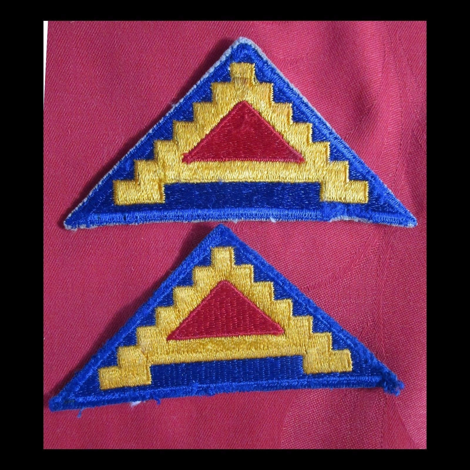 US ARMY 7TH ARMY SHOULDER PATCH.