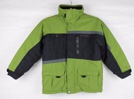 Columbia vintage omni shield youth kids jacket green black size 6/7 - $19.40