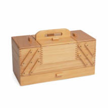 Hobby Gift Sewing Box Cantilever Wood: 4 Tier - $129.99