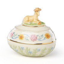Lenox 2018 Pony Easter Egg Box Annual Trinket Springtime Horse Palomino NEW - $44.55