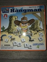 Hangman Take `N` Play Anywhere Game AGES 5+ - $9.90