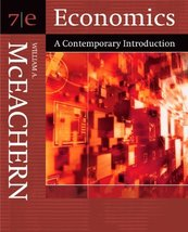 Economics: A Contemporary Introduction (with InfoTrac) [Jan 05, 2005] Mc... - $18.81