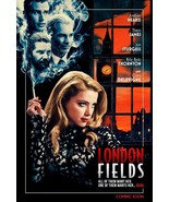 "London Fields Movie Poster Mathew Cullen Amber Heard Film Print 24x36"" 27x40"" - £8.25 GBP - £13.61 GBP"