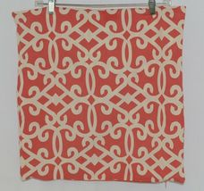 Split P Amelia 2505054CVR Red White Zippered  Cover 18 Inch Polyester Pillow image 5