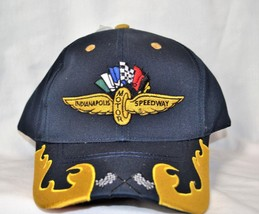 NWT Indianapolis Motor Speedway Navy Adjustable Hat by CAPTIVATING HEADG... - $14.01
