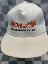 MAC'S Fire & Safety Inc Vintage Snapback Adult Cap Hat - $17.81